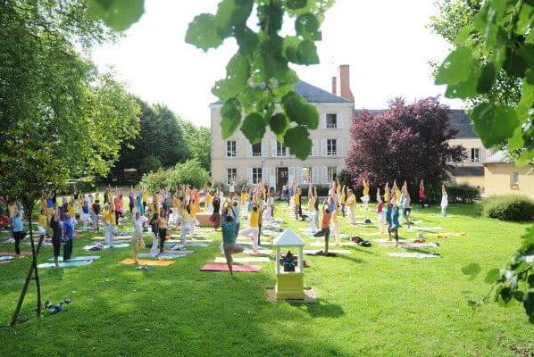 Vacaciones de yoga en Francia