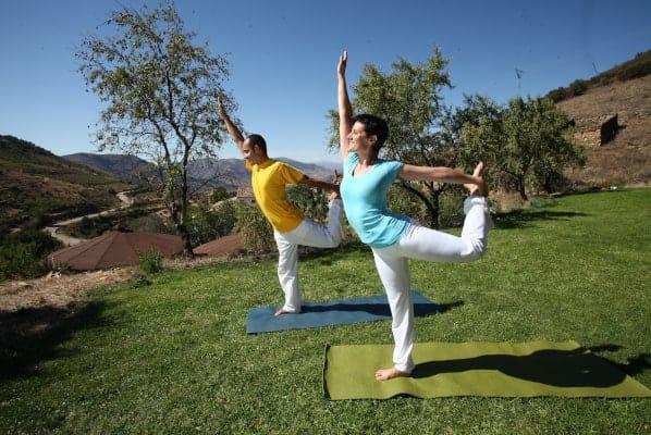 Vacaciones de yoga en España