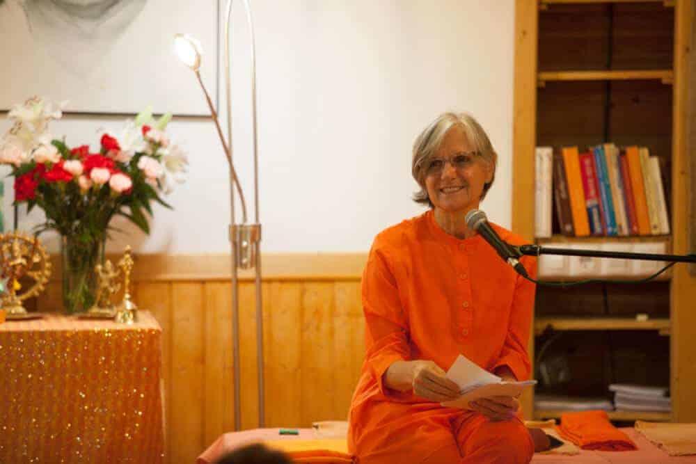 Swami Dayananda en el Centro de Madrid