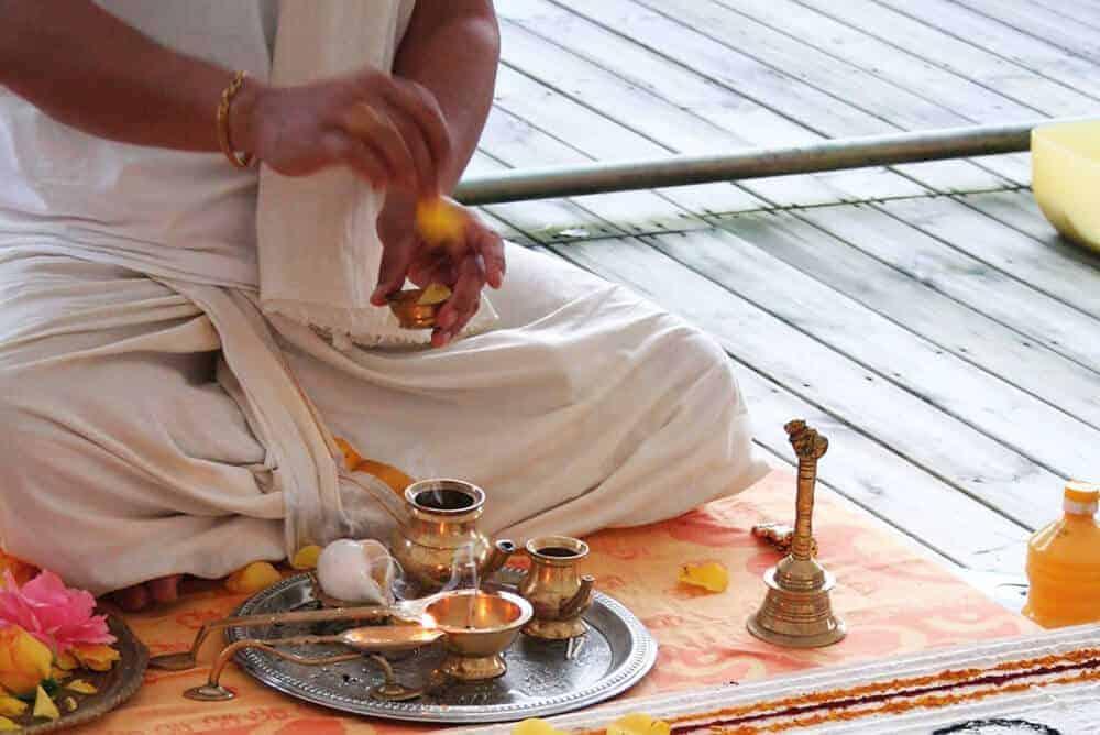 Ceremonias y mantras tradicionales de la India